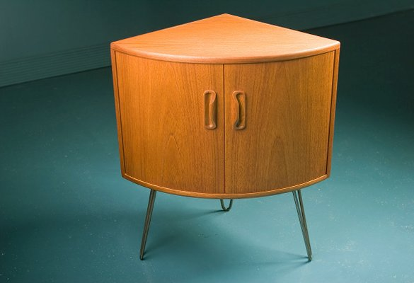 Captivating Small Mid Century Teak Corner Cabinet From G Plan 1