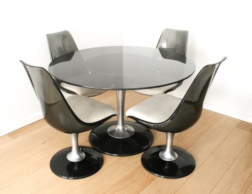 Space Age Marquise Dining Set From Chromcraft, 1970s 1
