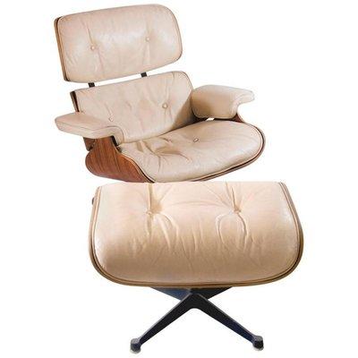Sessel Eames lounge sessel mit hocker charles eames für mobilier