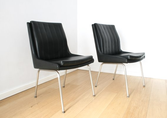 High Quality Mid Century Conference Chairs By Martin Stoll For Giroflex, Set Of 2 1