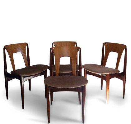 Mid Century Dining Chairs By Elliotts Of Newbury, Set Of 4 2