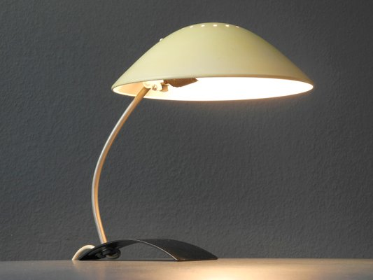 Mid century modern emperor model 6840 table lamp by christian dell for kaiser idell 2