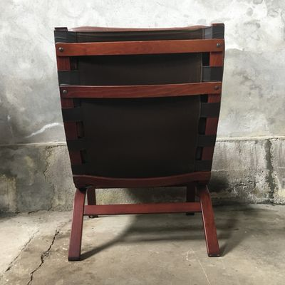 Vintage Bentwood Lounge Chair From Farstrup Møbler, 1970s 2