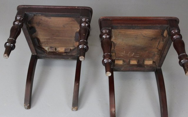 Antique Victorian Hall Chairs, Set of 2 12 - Antique Victorian Hall Chairs, Set Of 2 For Sale At Pamono