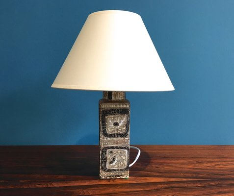 Baca table lamp by nils thorsson for royal copenhagen 1960s 2