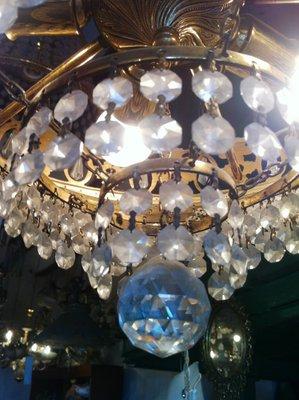 Vintage austrian swarovski crystal chandelier 1980s for sale at pamono vintage austrian swarovski crystal chandelier 1980s 10 aloadofball Image collections