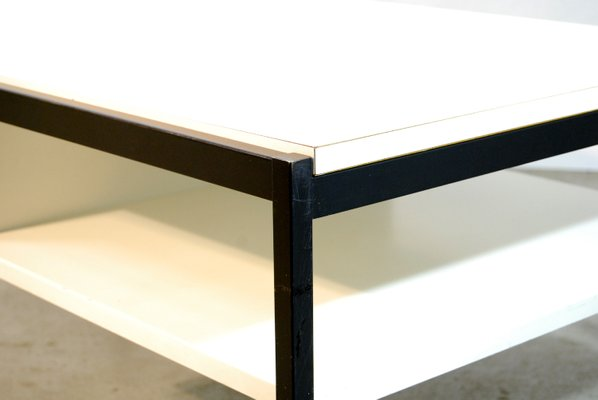 Wonderful Mid Century Dutch Modern Coffee Table By Coen De Vries For Gispen, 1960s 9
