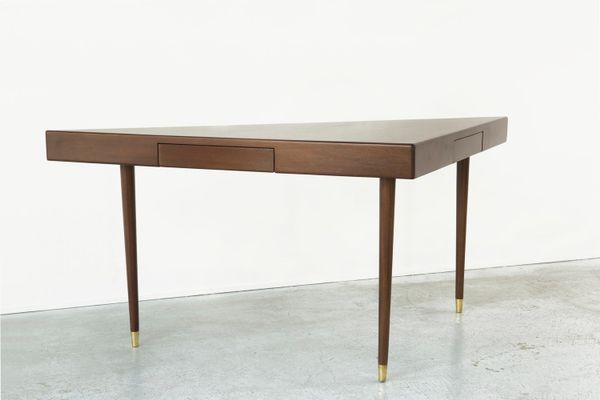 Triangular Sofa Table From Harvey Probber, 1950s 2