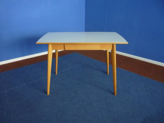 Formica U0026 Beech Kitchen Table, 1950s 1
