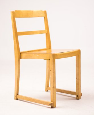 Stacking Chairs By Sven Markelius For Bodafors, 1960s, Set Of 6 1
