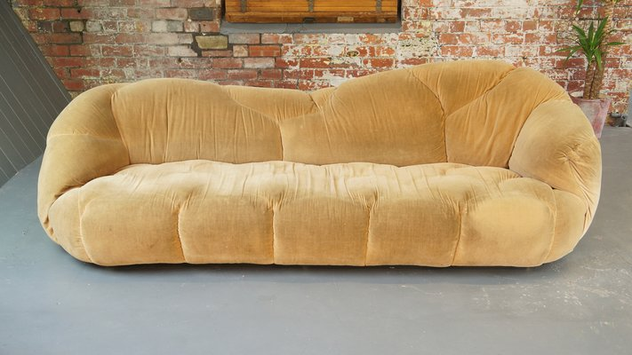 Large Vintage HK Cloud Sofa By Howard Keith For HK Designs 11
