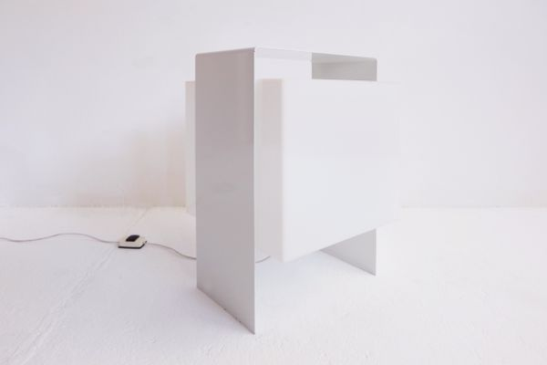 Italian Cube Floor Lamp, 1960s for sale at Pamono