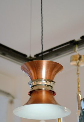 Danish copper pendant lamp 1960s for sale at pamono danish copper pendant lamp 1960s 1 mozeypictures Image collections