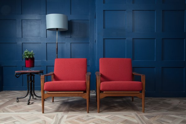 Swedish Lounge Chairs No.3 By Illum Wikkelso For N. Eilersen, 1960s 1