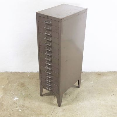 Filing Cabinet From Stor All Steel 1950s 2