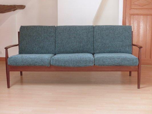 Model 118 Scandinavian Teak Sofa By Grete Jalk For France U0026 Søn, ...