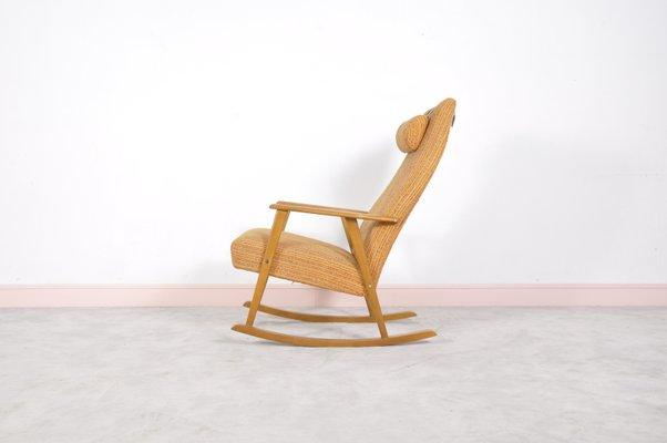 schaukelstuhl modern schwedischer mid century von johanson design 1960er 2 modernes