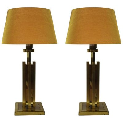 Vintage Hollywood Regency Table L&s Set of 2 1  sc 1 st  Pamono & Vintage Hollywood Regency Table Lamps Set of 2 for sale at Pamono