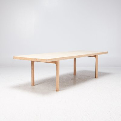 White Oak Coffee Table By Hans J. Wenger, 1960s 2