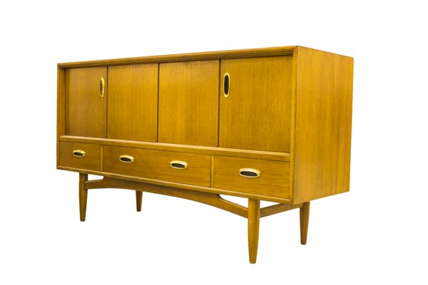 Vintage Scandi Compact Sideboard From G Plan 5