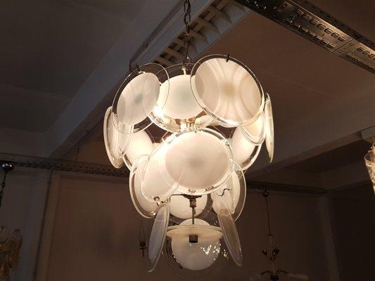 Murano glass chandelier from vistosi 1960s for sale at pamono murano glass chandelier from vistosi 1960s 3 aloadofball Choice Image
