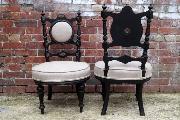 Antique Victorian Chairs, Set of 2 6 - Antique Victorian Chairs, Set Of 2 For Sale At Pamono