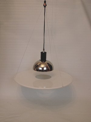 Vintage Italian Frisbi 850 Pendant Lamp By Achille Castiglioni For Flos 1