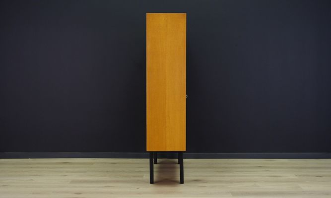 Vintage Danish Ash Cabinet from Domino Mobel for sale at Pamono