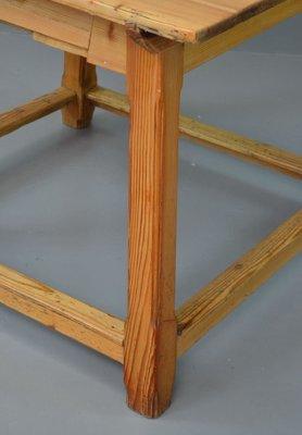 Marvelous Vintage Arts U0026 Crafts Pine Dining Table 3