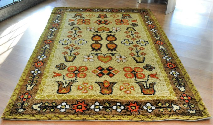 Vintage Wool Rug From Hammer Taepper 2