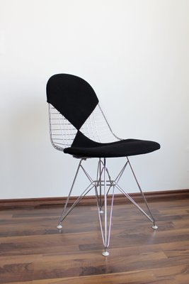DKR-2 Wire Chair with Bikini Upholstery from Vitra Design Ray and ...