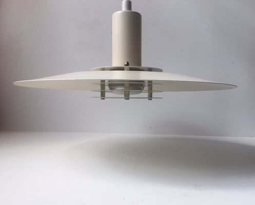 minimalist lighting. Vintage Danish White Minimalist Pendant Lamp By Lyfa, 1970s 1 Lighting