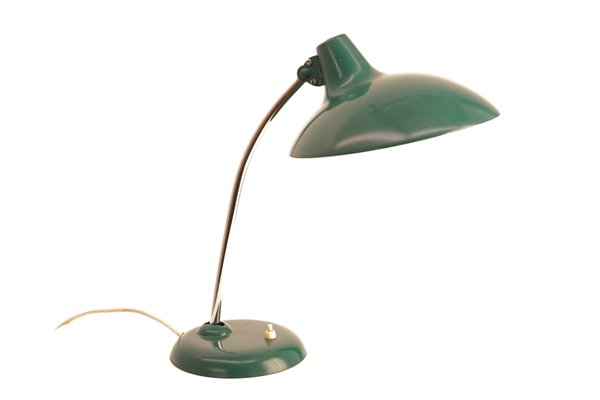 Vintage 6786 table lamp with green shade by christian dell for vintage 6786 table lamp with green shade by christian dell for kaiser idell 1 aloadofball Images