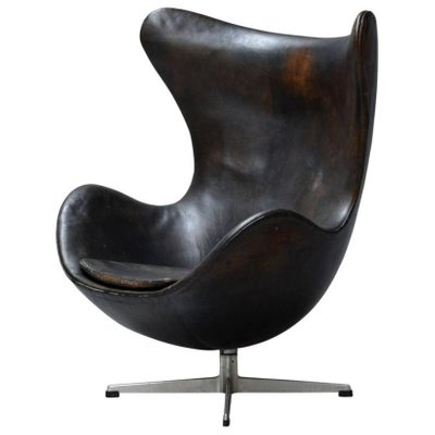Egg Chair by Arne Jacobsen for Fritz Hansen, 1960s for sale at Pamono
