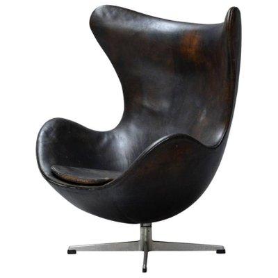egg chair von arne jacobsen fr fritz hansen 1960er 1 - Egg Chair Kaufen