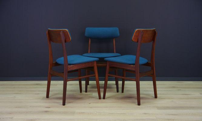 vintage teak furniture. Danish Vintage Teak Dining Chairs, Set Of 3 2 Vintage Teak Furniture