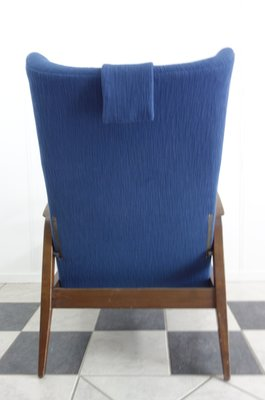 Reclining Wingback Chair From Knoll Antimott, 1965 8