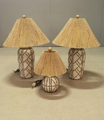 Vintage hollywood regency chinoiserie faux bamboo table lamps set vintage hollywood regency chinoiserie faux bamboo table lamps set of 3 1 aloadofball Gallery