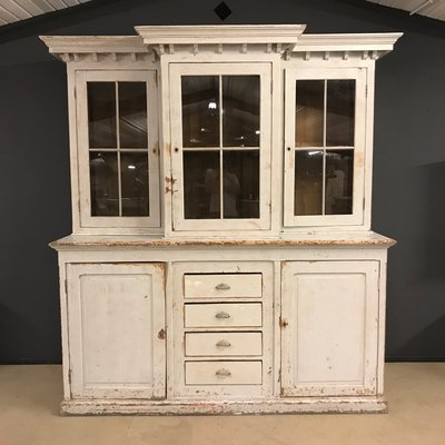 Large French Antique Buffet Cabinet, 19th Century 1 - Large French Antique Buffet Cabinet, 19th Century For Sale At Pamono