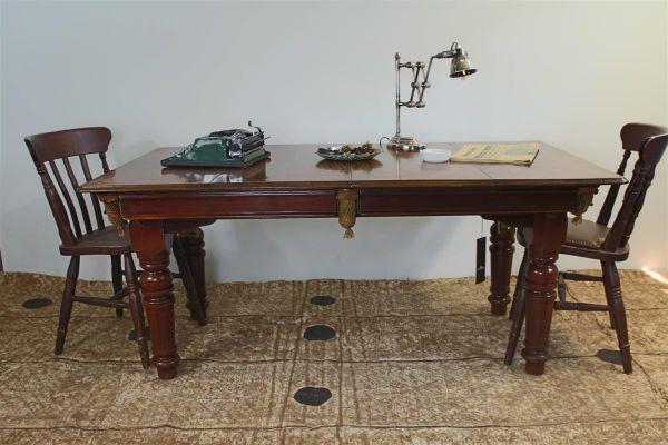 Billiard Table In English Oak From E.G. Riley, 1930s 2