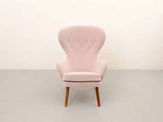High Back Armchair from Carl Gustav Hiort af Ornäs, 1950s for sale ...