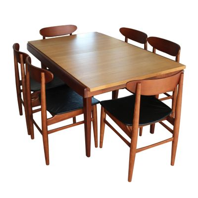 Superb Extendable Dining Table, 1960s 8