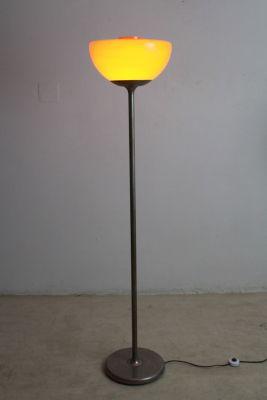 Vintage orange glass floor lamp 1960s for sale at pamono vintage orange glass floor lamp 1960s 4 mozeypictures Choice Image