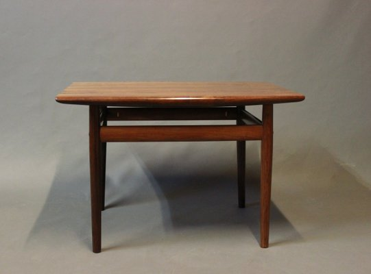 Danish Side Table In Rosewood, 1960s 1