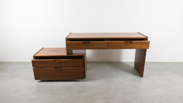Mid Century Desk With Storage From Moser 2