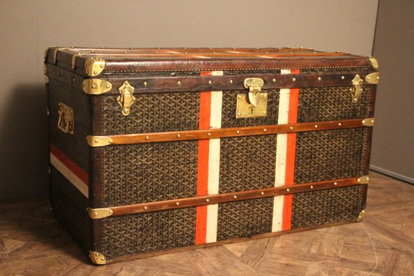 Vintage Steamer Trunk From Goyard 1
