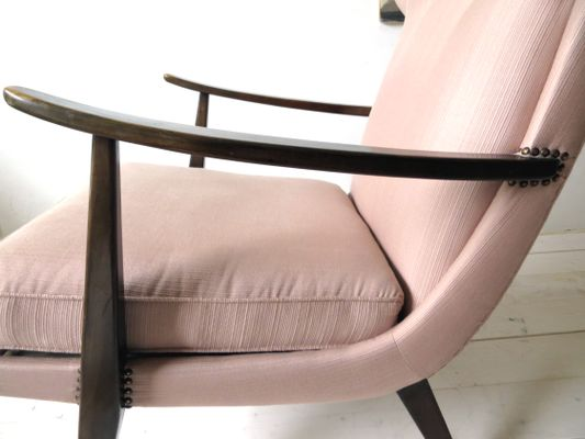 Armchair by Walter Knoll for Knoll Antimott, 1950s for sale at Pamono