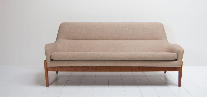 Marvelous Mid Century Sofa By IB Kofod Larsen For Bovenkamp 1
