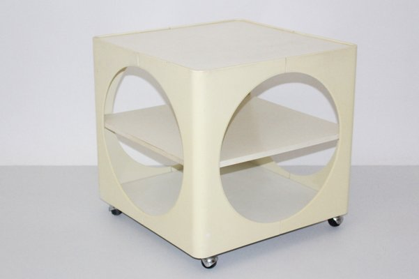 Ivory Colored Side Table, 1960s 3