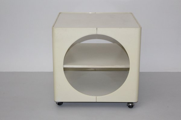 Ivory Colored Side Table, 1960s 2